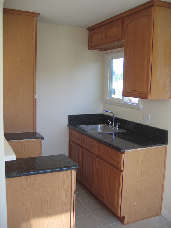 Custom Apartment Kitchen Cabinets Install Remodel